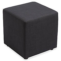 Lorell Fabric Cube Chair Plywood18 x