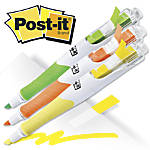 Post it Flag Plus Highlighters Assorted