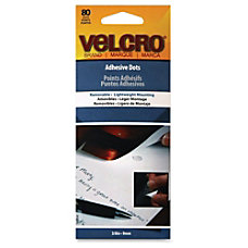 Velcro Permanent Adhesive Dots Adhesive Backing