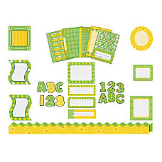 Carson Dellosa Bulletin Board Set Lemon