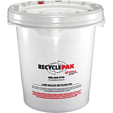 RecyclePak Ballast Recycling Pail 66 lb