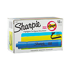 Sharpie Accent Highlighters Turquoise Blue Pack