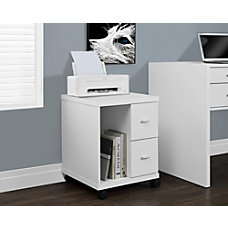 Monarch Specialties Mobile Office Cabinet 2
