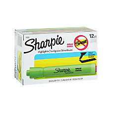 Sharpie Accent Highlighters Fluorescent Green Pack
