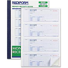 Rediform 3 part Form Manifold Book