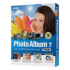 Corel Photo Album 7 Traditional Disc