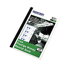Rediform 3 pt Carbonless Money Receipt