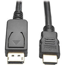 Tripp Lite 6ft DisplayPort to HD