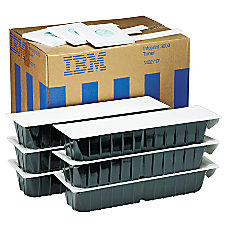 IBM 1402717 Black Toner Cartridges Box