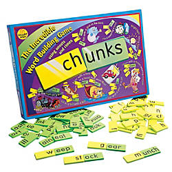 Didax Chunks Word Building Game 16