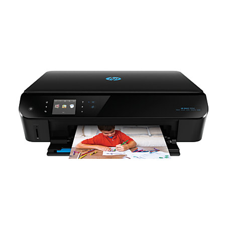 hp envy 5534 wireless color inkjet e all in one printer scanner and copier by office depot. Black Bedroom Furniture Sets. Home Design Ideas