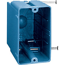 Carlon Blue PVC Outlet Boxes