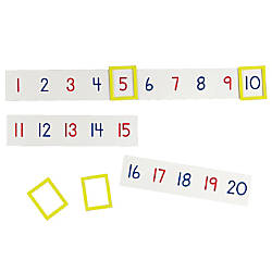 Learning Resources Magnetic Number Line Set