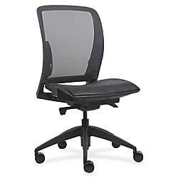 Lorell Mesh Mid Back Swivel Chair