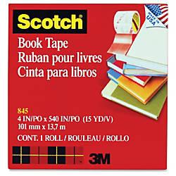 Scotch Book Tape 4 Width x