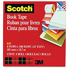 Scotch Transparent Tape 4 Width x