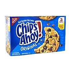 Nabisco Chips Ahoy Cookies 34 Lb