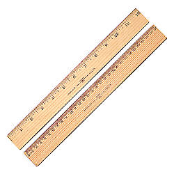 Westcott 2 Sided Metric Ruler 116