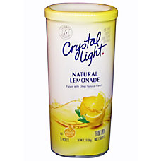 Crystal Light Pitcher Pack Natural Lemonade