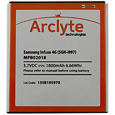 Arclyte Samsung Batt Infuse 4G Infuse