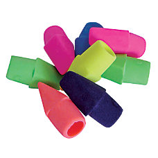 Office Depot Brand Eraser Caps Assorted