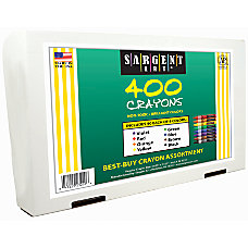 Sargent Art Crayons Box Of 400
