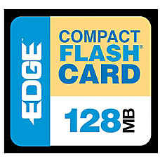 EDGE Tech 128MB CompactFlash Card