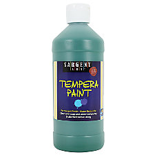 Sargent Art Tempera Paint 16 Oz