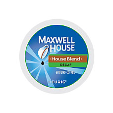 Maxwell House Decaffeinated Coffee K Cups