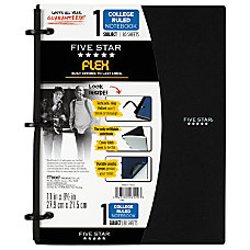 Five Star Flex Notebook 8 12