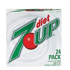 Diet 7 Up Soda 12 Oz