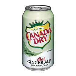 Canada Dry Diet Ginger Ale 12