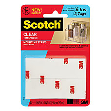 Scotch Permanent Heavy Duty Clear Mounting