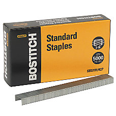 Stanley Bostitch Premium Standard Chisel Point