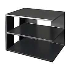 Victor Midnight Black Collection Corner Shelf