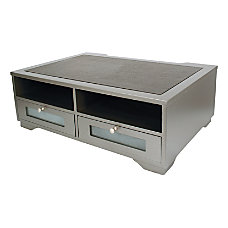 Victor Classic Silver Collection Printer Stand