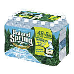 Natural Spring Water 8 Oz Case