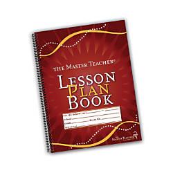 The Master Teacher Lesson Plan Book