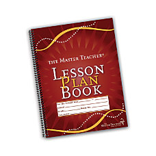The Master Teacher Lesson Plan Book