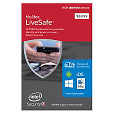 McAfee LiveSafe 2016 Software Installation For