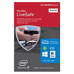 McAfee LiveSafe 2016 Software Installation For
