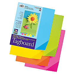 Pacon Colorwave Super Bright Tag Board