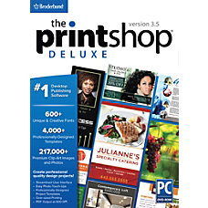 Encore The Print Shop Deluxe 35