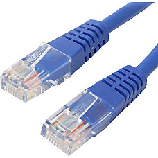 4XEM 6FT Cat6 Molded RJ45 UTP