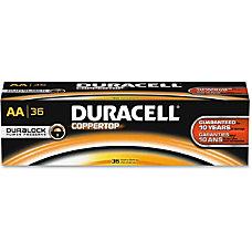 Duracell Coppertop Alkaline AA Battery MN1500