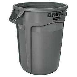 Rubbermaid Round Brute Container 32 Gallons