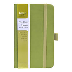 eccolo cool jazz journal 3 12 x 5 lined 192 pages assorted