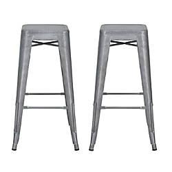 DHP Nova Metal Mesh Backless Bar