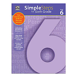 Thinking Kids Simple Steps Grade 6