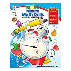 Carson Dellosa More Minute Math Drills